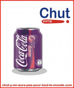 Canette cherry coke pas chère